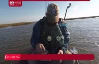آموزش ماهیگیری | ماهیگیری با قلاب دست ( چالش ماهیگیری )