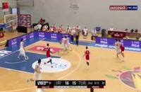 خلاصه بازی بسکتبال ایران - ترکیه (جام جهانی زیر 19 سال)
