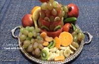 ایده تزیین سینی میوه شب یلدا - یلدا مبارک