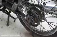 شست وشوی موتورسیکلت با نانو بخارشوی صنعتی