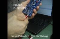 راه اندازی GPIO میکرو HT32F12345  در برد آموزشی HT32 توسط گروه نیکان پیشروتک