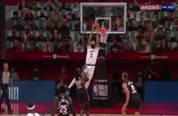 5 حرکت برتر دیدار شب گذشته NBA