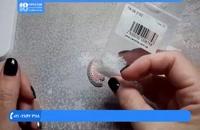آموزش جواهر دوزی - آموزش  گل سینه طرح موش