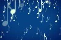 پس زمینه نمادهای متحرک موسیقی