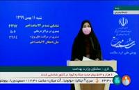 جدیدترین آمار کرونا در ایران - ۱۱ بهمن