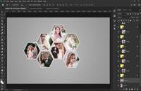 آموزش طراحی آلبوم عروس در فتوشاپ
