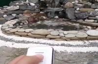 اجرای آبنما و آبشار بکه جوب آبشارطبیعی باکاشتن گل گیا طبیعت را به ارمغان بیارید 09124026545