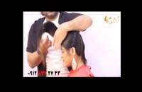 فیلم آموزش کوتاه کردن مو بلند مدل خرد