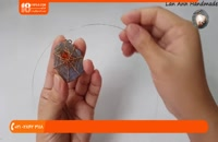 آموزش ساخت زیورآلات | زیورآلات دست ساز | ساخت جواهرات (گردنبند مسی میناکارشده)