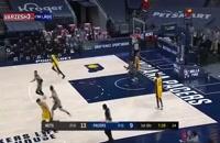خلاصه بازی بسکتبال ایندیانا پیسرز - بروکلین نتس