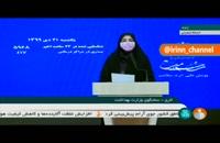 آمار کرونا در ایران - ۲۱ دی