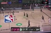 خلاصه بازی بسکتبال بوستون سلتیکس - میامی هیت