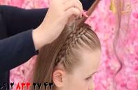 کلیپ بافت مو مدل تل + آموزش حجم دادن مو