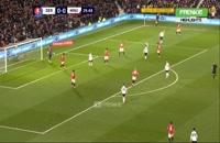 خلاصه بازی منچستریونایتد 3 - دربی کانتی 0