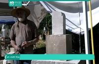 آموزش سنگ تراشی   حکاکی روی سنگ   سنگ تراشی شکل صورت