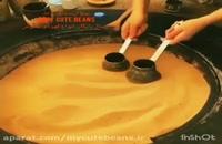 طرز تهیه قهوه ترک با شن داغ