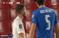 خلاصه مسابقه فوتبال اسپانیا 1 - یونان 1