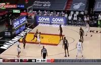 خلاصه بازی بسکتبال میامی هیت - کلیولند کاوالیرز