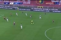 خلاصه بازی تیم های جنوا 1 - یوونتوس 3