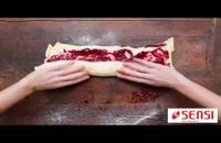فیلم آموزشی تهیه دو نوع نان شیرین برای صبحانه