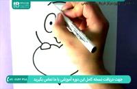 نحوه کشیدن نقاشی سگ جذاب با قلب