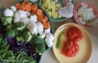 طرز تهیه سوپ سبزیجات چربی سوز