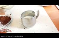 طرز تهیه کیک توت فرنگی ساده برای تولد