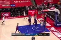 بازی بسکتبال بروکلین نتس - دیترویت پیستونز