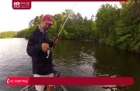 آموزش ماهیگیری - طعمه پایه در صید خارماهی پارت 2
