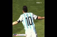 انتشار ویدیو گل مسی به ایران توسط پیج جام جهانی