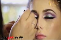 فیلم آموزش آرایش مونوکروم عروس + میکاپ هماهنگ با لباس