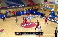 خلاصه بسکتبال ایران - پورتوریکو