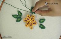 آموزش گلدوزی سه بعدی