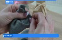 عروسک جورابی - آموزش دوخت عروسک بافی خرگوش