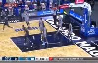 خلاصه بازی بسکتبال واشینگتن ویزاردز - اورلاندو مجیک