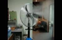 پنکه مه پاش صنعتی-پنکه رطوبت ساز-شیراز09121865671