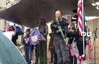 معترضان مسلح در فرمانداری میشیگان - آمریکا