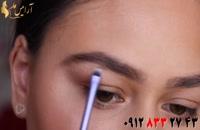 کلیپ آرایش چشم و ابرو + آموزش میکاپ صحیح چشم