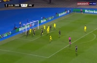 خلاصه مسابقه فوتبال دینامو زاگرب 0 - ویارئال 1