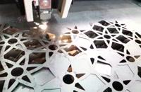 خدمات برش لیزر فایبر فلزات در آبادان 09173386445-09177002700