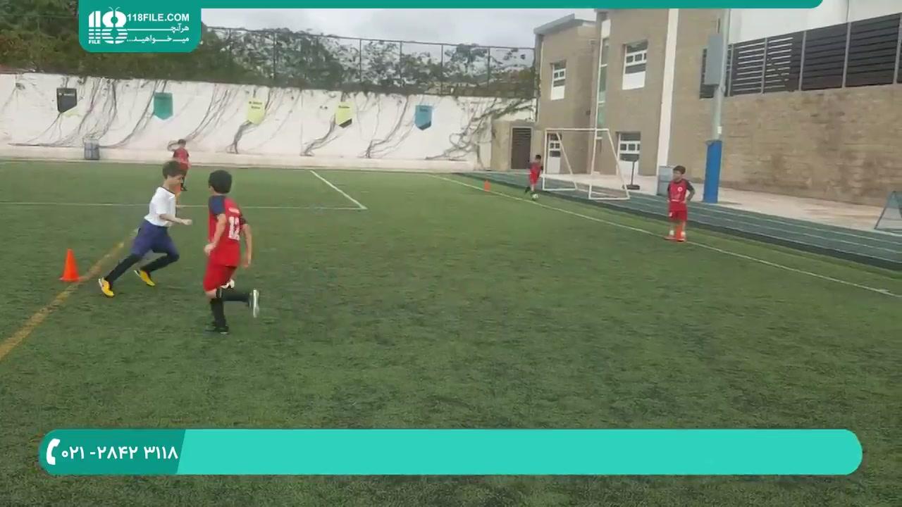 افزایش مهارت و تکنیک در فوتبال بچه ها