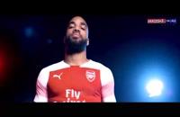 ویدیو برترین لحظات لاکازت در آرسنال
