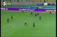 خلاصه بازی فوتبال استقلال - فولاد