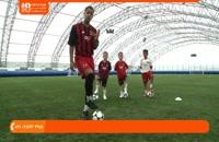 آموزش فوتبال به کودکان - 3تمرین به کودکان برای دریبل زدن