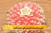 40-تزیین هندوانه به شکل میوه کاج