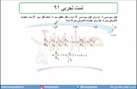 جلسه 93 فیزیک یازدهم - عوامل موثر بر مقاومت الکتریکی6 تست تجربی 61 - محمد پوررضا