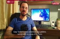 آموزش زبان ترکی - آموزش رنگ های عجیب