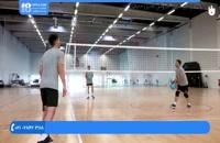 ورزش والیبال کودکان ::: آموزش فرم و تکنیک سرویس زدن