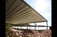 حقانی 09380039391-زیباترین سقف متحرک محوطه جلوی کافه رستوران عربی- سقف اتوماتیک حیاط رستوران ایتالیایی-سایبان برقی سالن غذاخوری تالار