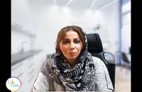 فیلم رضایتمندی سرکار خانم تبریزی پور بیمار ایمپلنت دندان